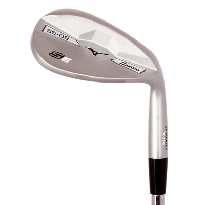 Mizuno S5 White Satin Lob Wedge Mens/Right
