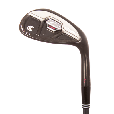 Cleveland 588 RTX 2.0 CB Black Satin Lob Wedge Mens/Right