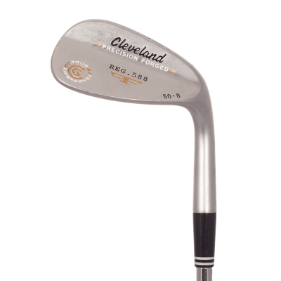 Cleveland 588 Forged Satin Chrome Wedge Lob Wedge Mens/Right