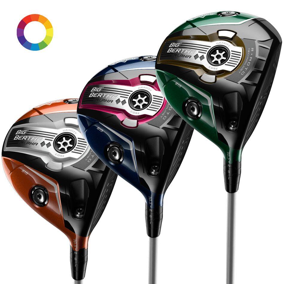 Callaway Golf Big Bertha Alpha Double Black Diamond udesign Drivers