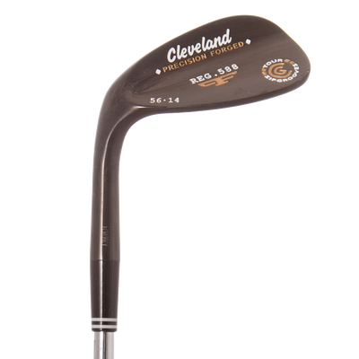 Cleveland 588 Forged Black Pearl Wedge Gap Wedge Mens/Right