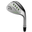 Mack Daddy 3 Milled Satin Chrome Lob Wedge Mens/Right