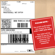 Trade Shipping Label