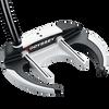 Odyssey Versa 90 Sabertooth Black with SuperStroke Grip Putter - View 5