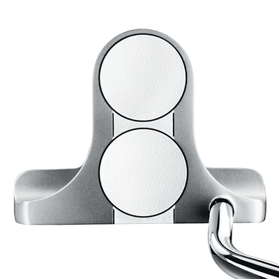 Odyssey White Steel 2-Ball Blade Putters