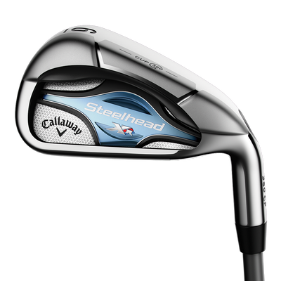 Womens Steelhead XR 16 7 Iron Ladies/LEFT