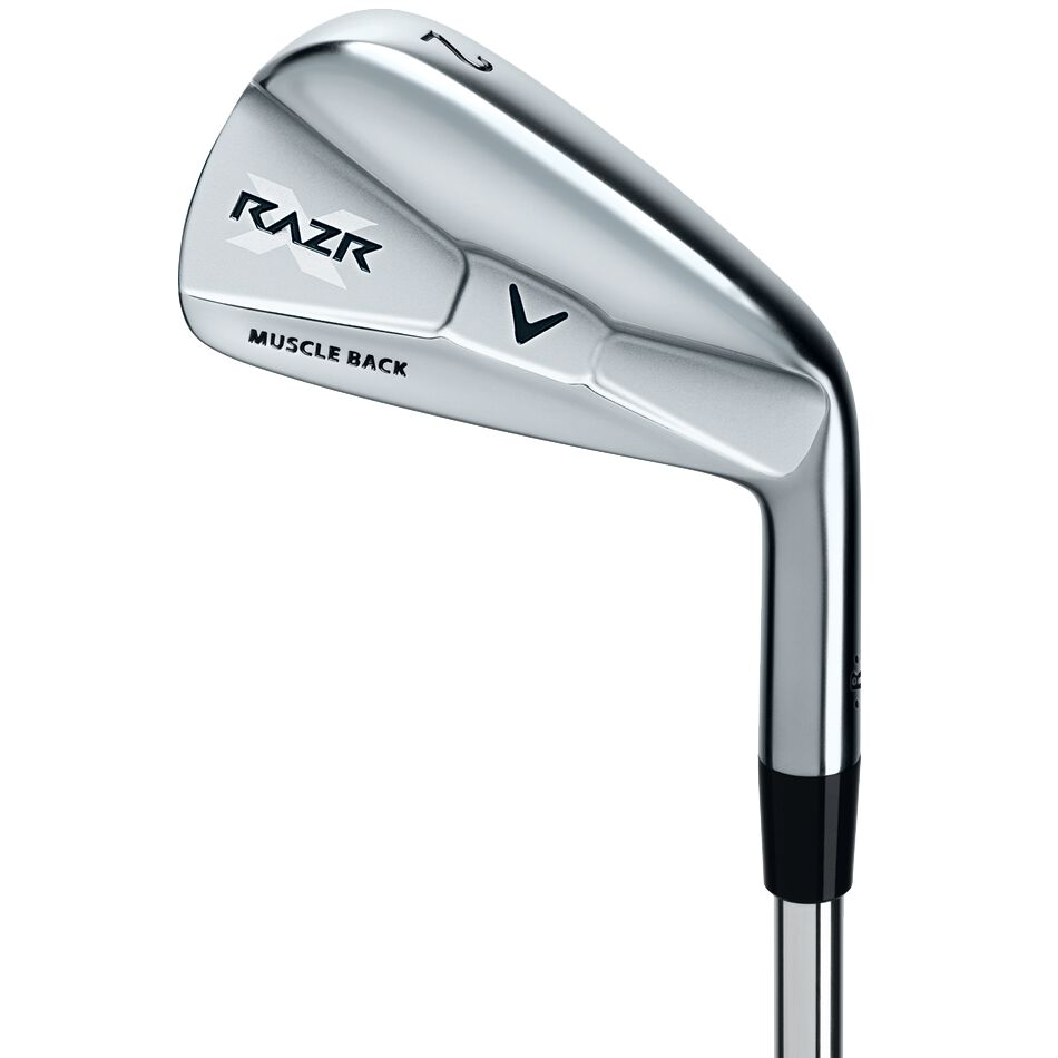 Callaway Golf RAZR X Muscleback Irons Compare Value Golf Gear and Apparel -