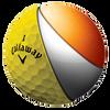 HEX Hot Yellow Golf Balls - View 2