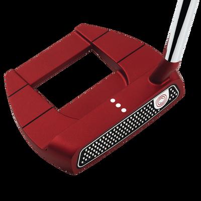 Odyssey 2018 O-Works Red Jailbird Mini Slant Putter Mens/Right