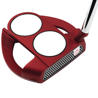 Odyssey 2018 O-Works Red 2-Ball Fang Slant Putter Mens/Right