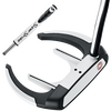 Odyssey Versa 90 Sabertooth Black with SuperStroke Grip Putter - View 1