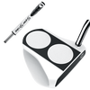 Odyssey Versa 2-Ball White with SuperStroke Grip Putters - View 1