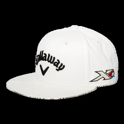 Custom Tour Flat Brim High Crown Cap