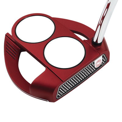 Odyssey 2018 O-Works Red 2-Ball Fang Putter Mens/Right
