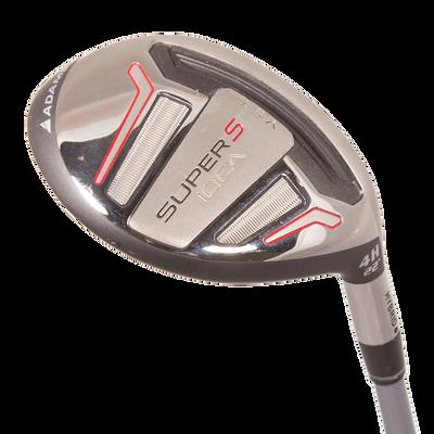 Adams Golf Idea Super S Black 4 Hybrid Mens/LEFT