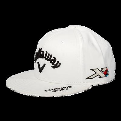 Custom Tour Flat Brim Med Crown Cap