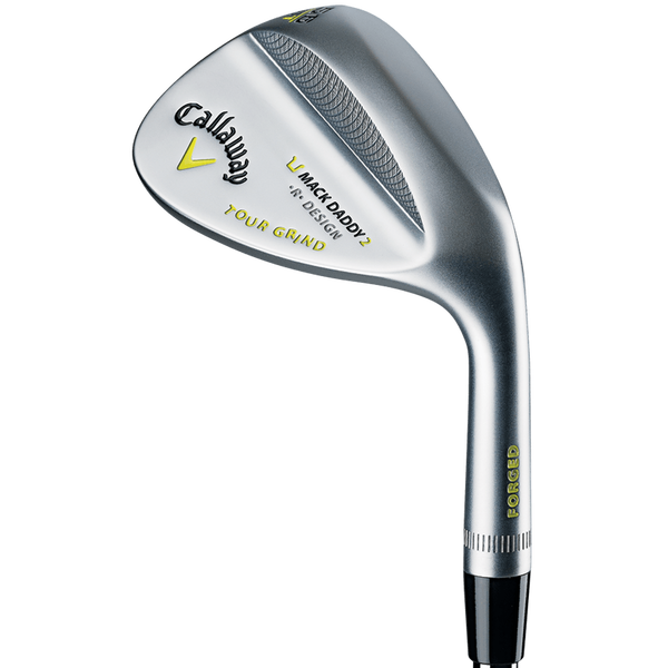 Mack Daddy 2 Tour Grind Chrome Wedges Technology Item