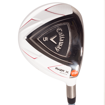RAZR X White Fairway Woods