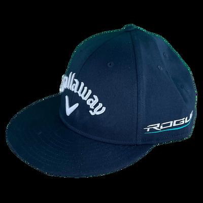 Rogue Logo Flat Bill Adjustable Cap
