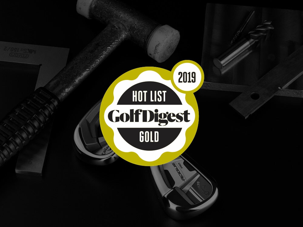 Callaway Rogue Pro Irons 2018 Golf Digest Hot List Badge