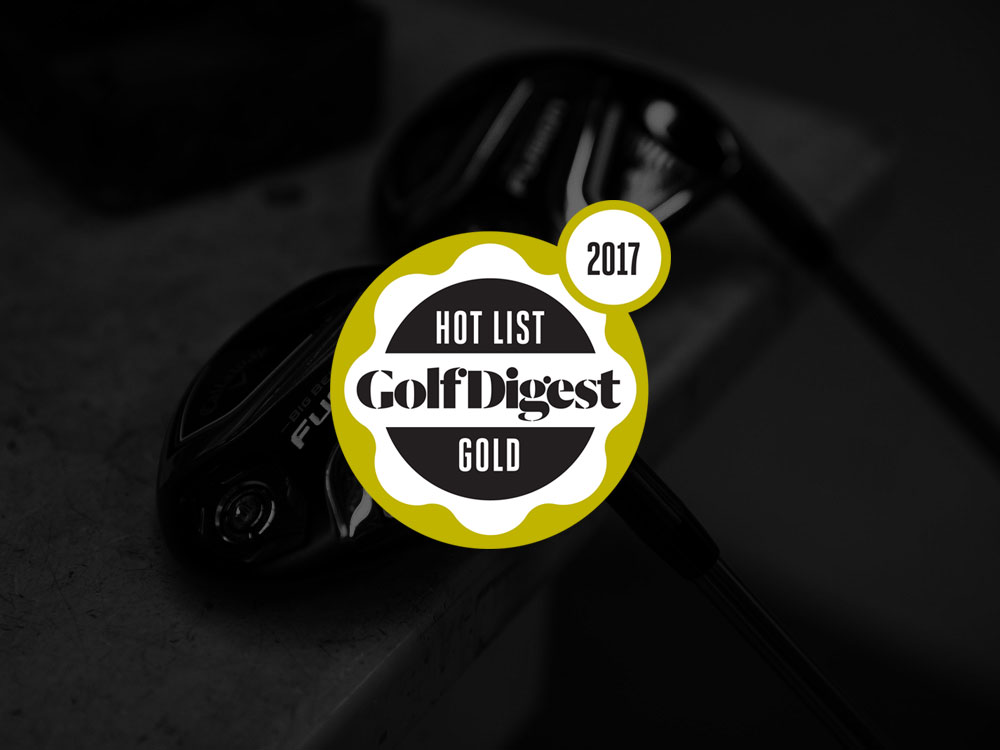 Callaway Big Bertha Fusion Fairway Wood 2017 Golf Digest Hot List Badge