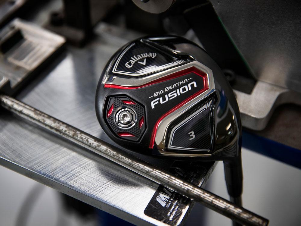 Callaway Golf Big Bertha Fusion Fairway Woods Specs