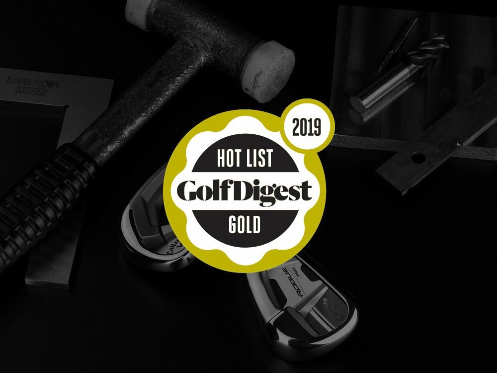 Callaway Rogue Pro Irons 2018 Golf Digest Hot List Badge