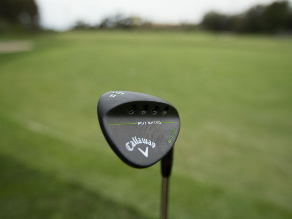 Callaway MD3 Milled Matte Black Wedge