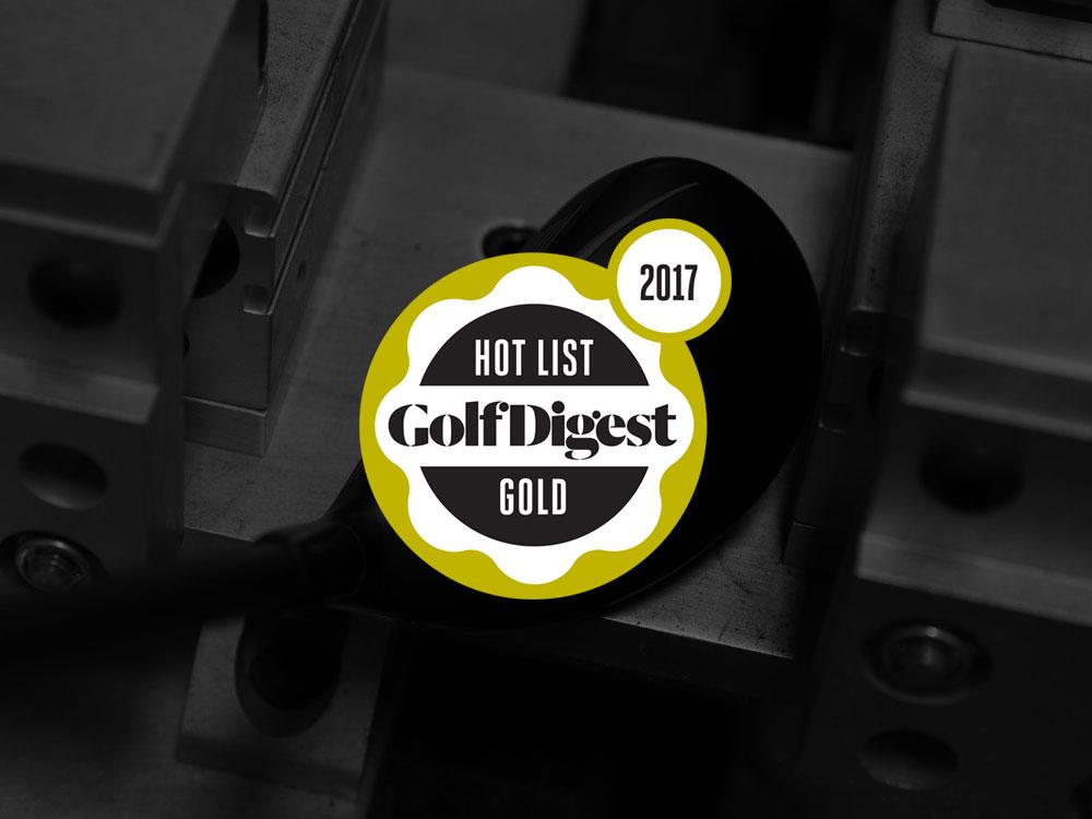 Callaway Steelhead XR Hybrids 2017 Golf Digest Hot List Badge